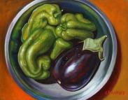 Peppers & Eggplant